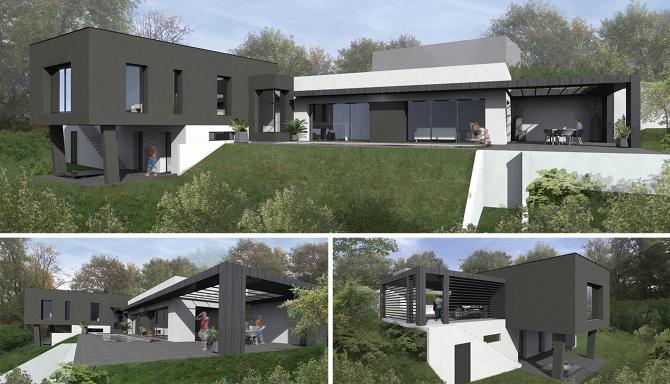 Perspective D Une Maison : Vues perspectives florian presle design d espace